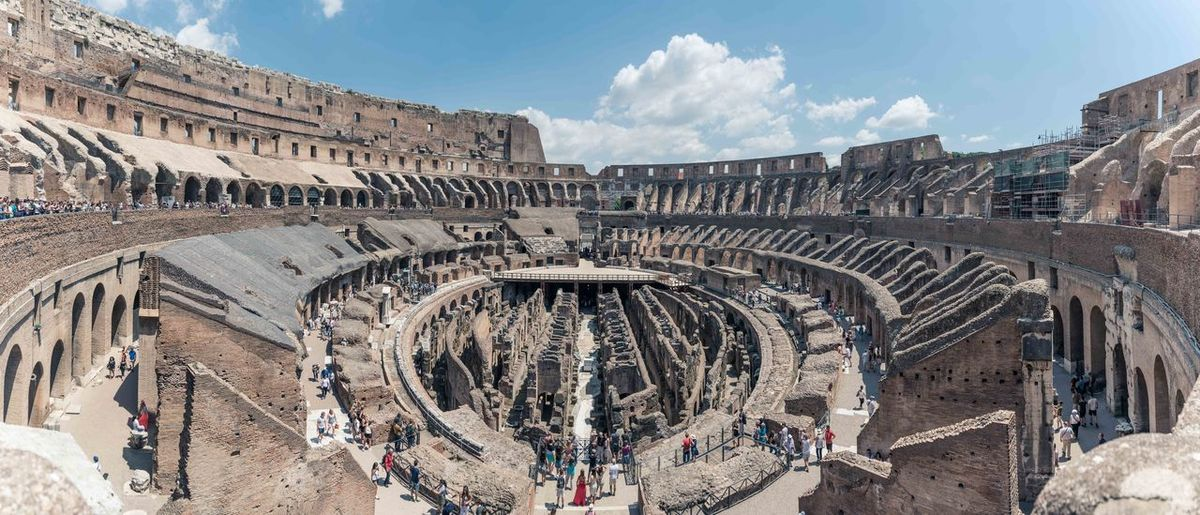 Rom Italien Italy Colloseum Panorama Panoramic Landscape Nikon D750 Rome Europe Moving Around Rome Ancient Civilization City Ancient Old Ruin History Place Of Worship Monument Arts Culture And Entertainment Archaeology Concentric Ancient Rome Roman Amphitheater Roma