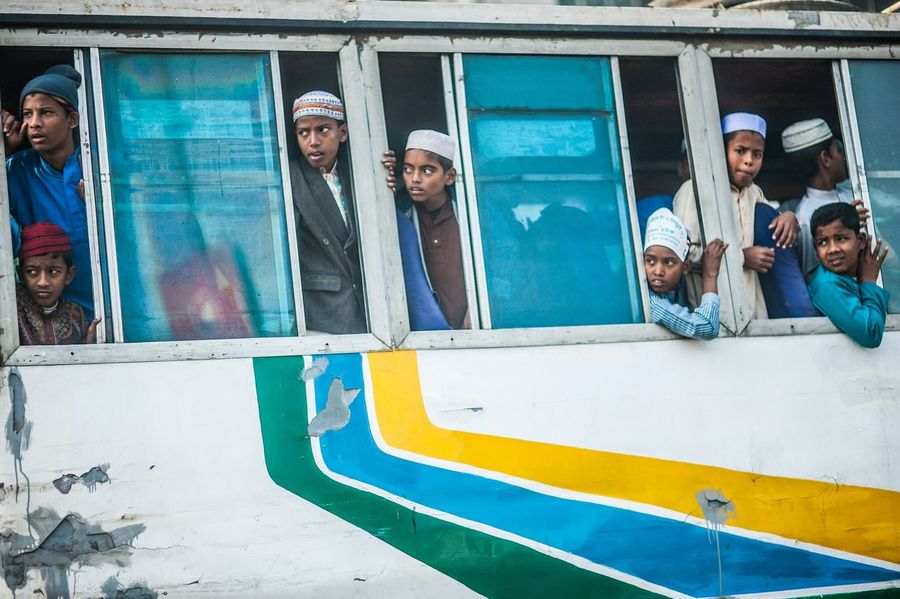 What The Bus? Bangladesh Bus Boys Ride Urban Lifestyle