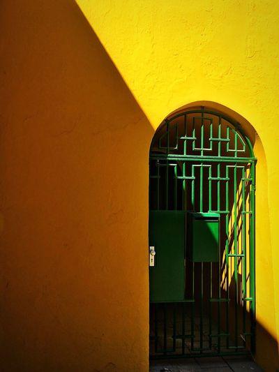 Gate. Door