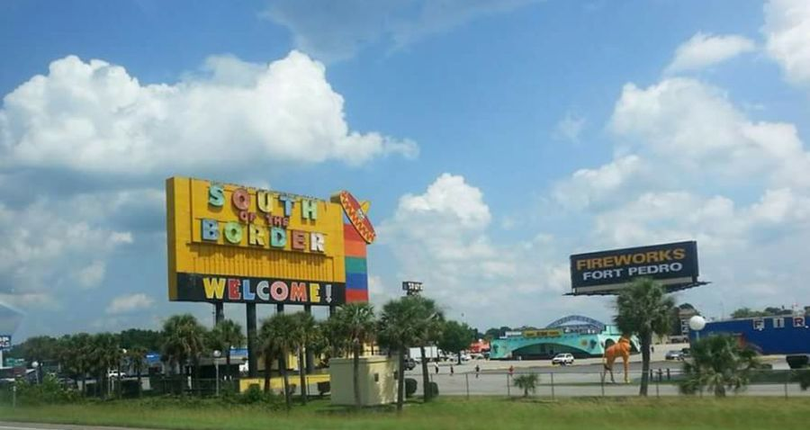 South Carolina South Of The Border Attraction Signs