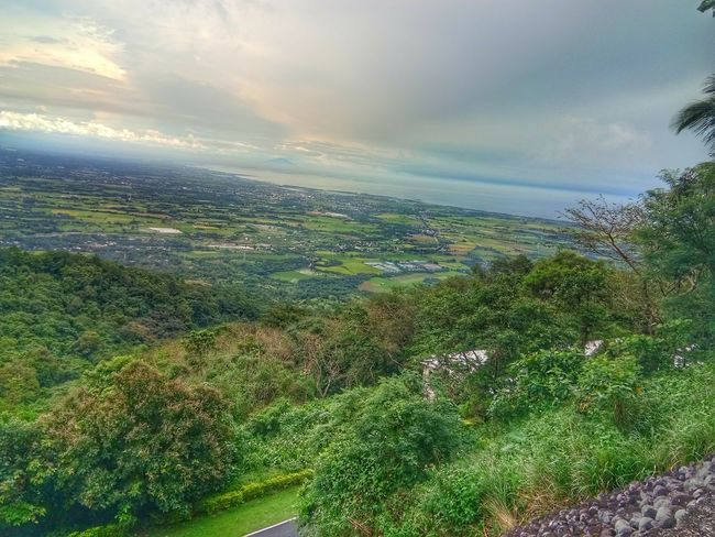 Mount Samat Overlooking View Green Color Beauty In Nature Scenics Cloud - Sky Nature Landscape No People Outdoors Tranquility Aerial View Rural Scene Sky Tree Agriculture Day Multi Colored Grass Water Freshness Tea Crop