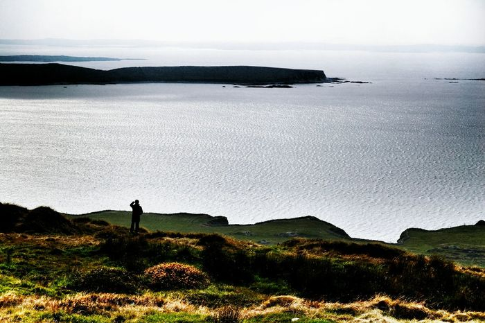 Panoramic Panoramic Photography Panorama Horizon Over Water SolitudineSolitude Sea And Sky Seascape Sea View Cliffs Ireland🍀 Ireland Over The Horizon Scogliere Mare Maredelnord Nordsee Natura Orizzonte no horizon