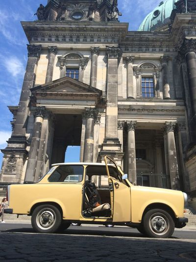 a bit toowarm for a Trabi Cruise still an awesome experience Nostalgia East Berlin Tourists Hello World Check This Out Car Oldtimer