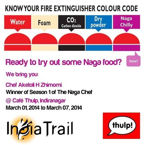 Who's ready for some naga food? :) Nagaland Bambooshoot RajaMircha Bangalore IndiaTrail Aketoli Nagachef Thulp