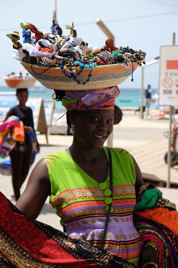 Caboverde CaboVerdeAFRICA Sal Cabo Verde Capo Verde Colors Woman Portrait Africa