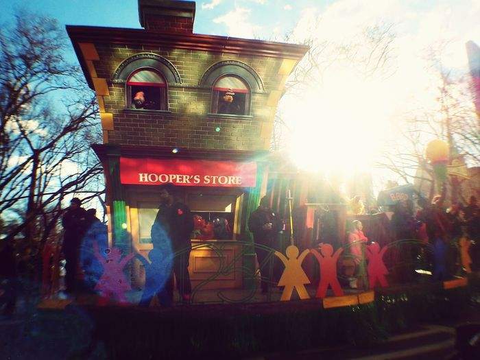 Muppet Show Macys Thanksgiving Day Parade Grand Stands Sun_collection NYC Photography