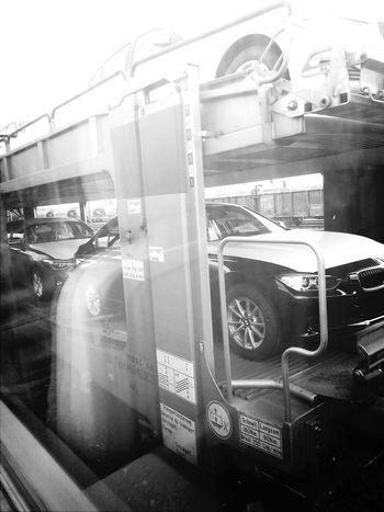 Car Bmw Bahnhof