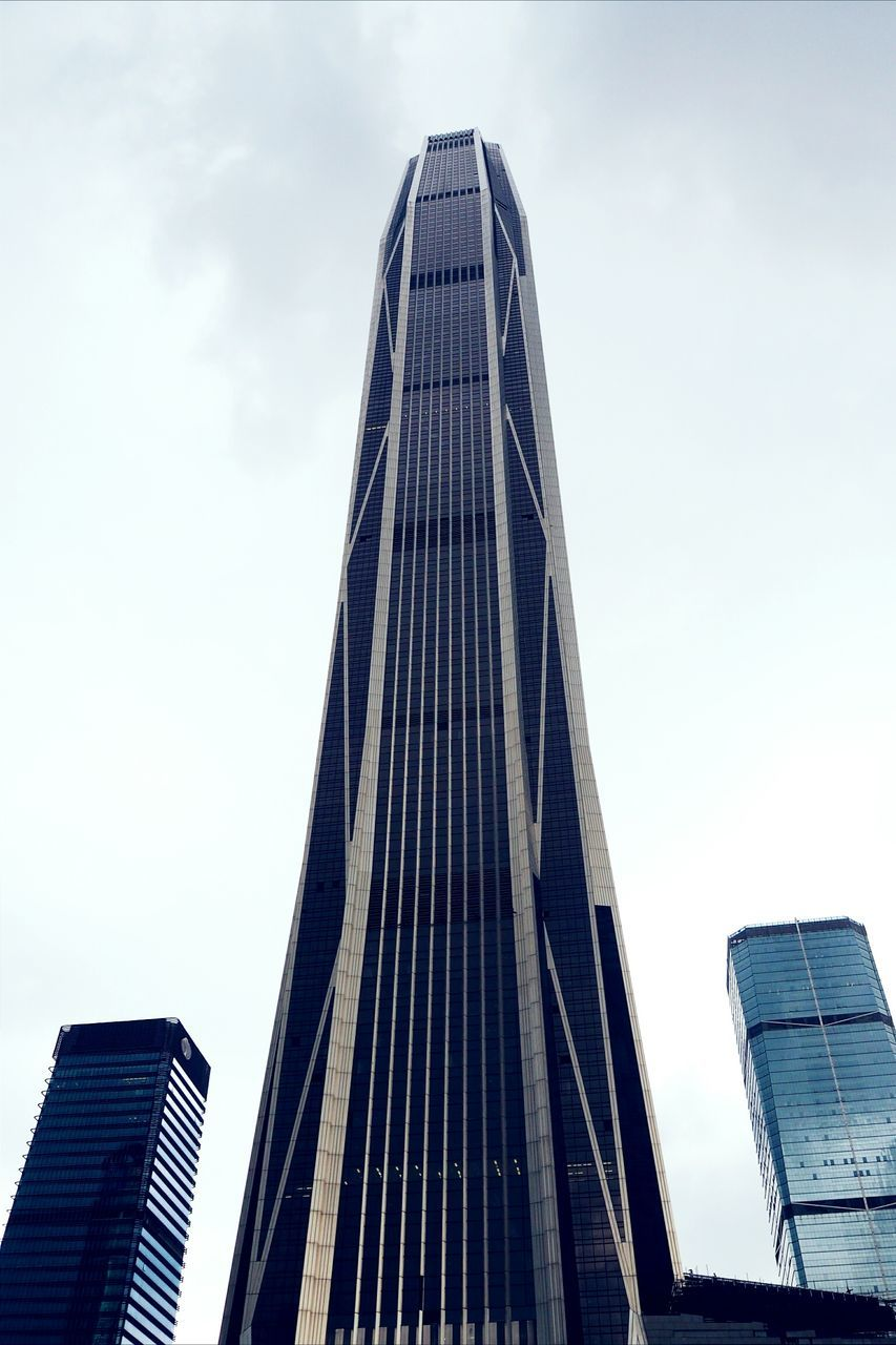 architecture, built structure, skyscraper, building exterior, modern, low angle view, sky, city, tower, day, outdoors, no people, travel destinations