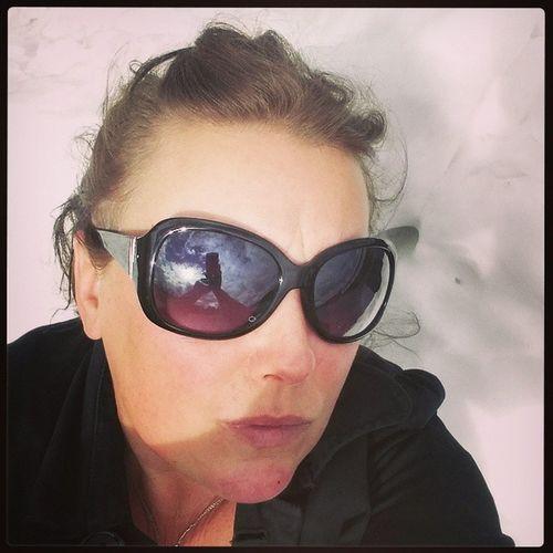 Ja...det är augusti och jag ligger i en snöhög... yes it's August...I'm lying in a pile of snow..it's from the hockey hall ? Mobile Photography No Edit/no Filter That's Me Self Portrait