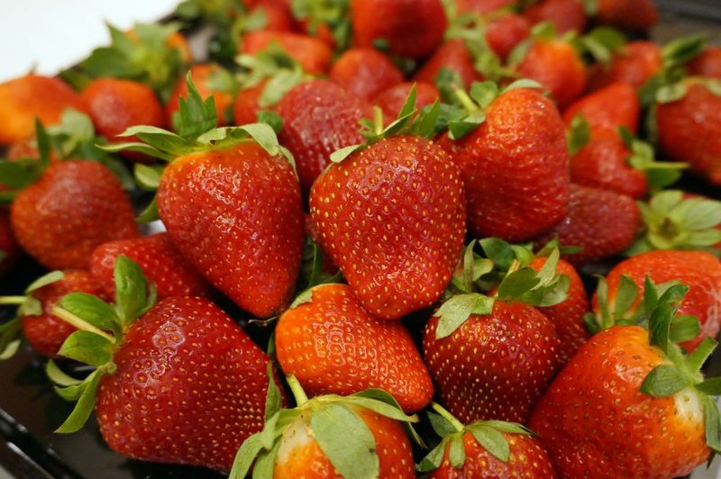 Close-up Day Food Food And Drink Fresh Fruits Freshness Fruit Healthy Eating Indoors  No People Ready-to-eat Red Strawberry EyeEmNewHere