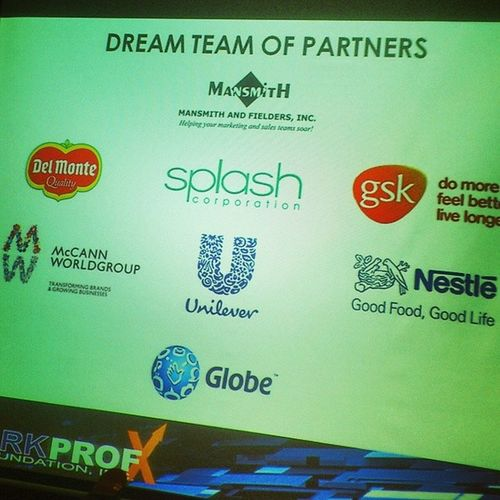 Let's jumpstart our career with these Markprof Dream Team of Partners @MarkProfTop25 Dayzero
