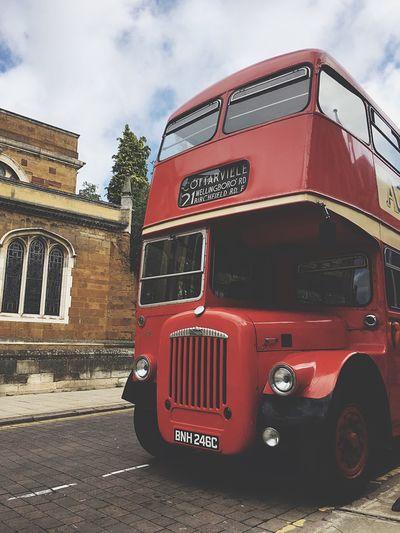 Redbus Englishredbus England Bus Northampton