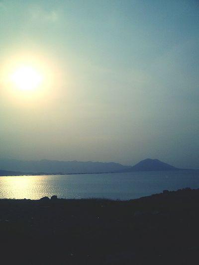 Indah nya danau ini 🌅