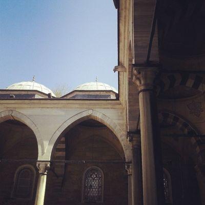 Eyüpsultan  Mosque Square Fatih oldcity historic building window green istanbul turquie