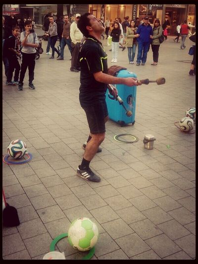 Today Hannover Citylife Football Artist