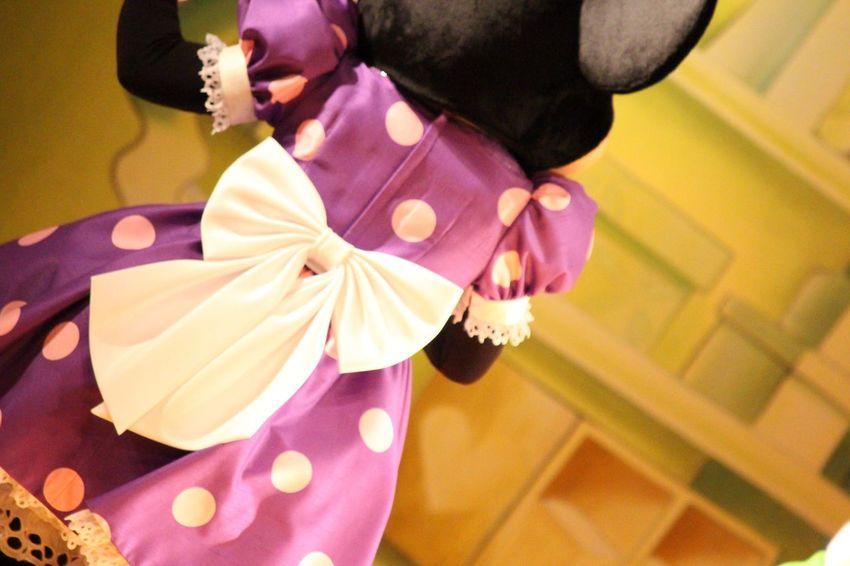 so cute 💕 Minnie Mouse Disney Love Cute Happy Ribbon Backstyle Purple Japan White