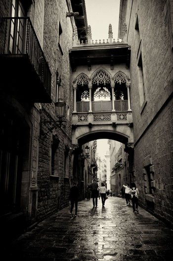 Barcelona Architecture Architecture TheWeekOnEyeEM Barcelona Streets Black & White Tourism Blac&white