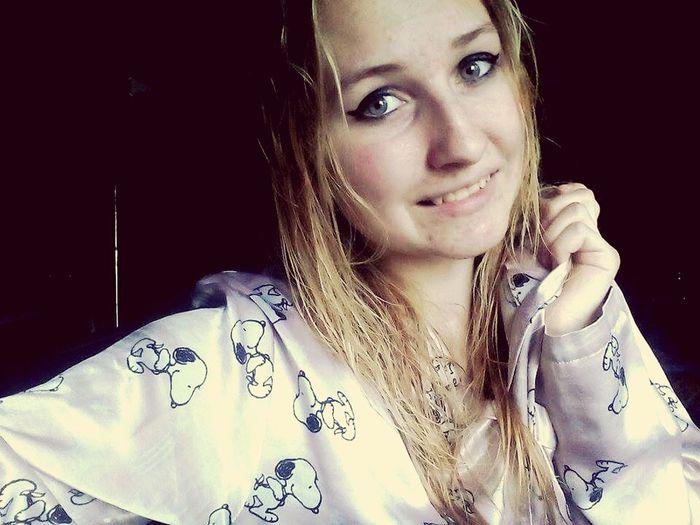 In Pajamas Snoopy :3