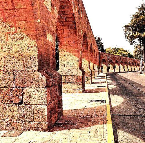 Acueducto Morelia, Mexico Arcos Acueduct Cantera