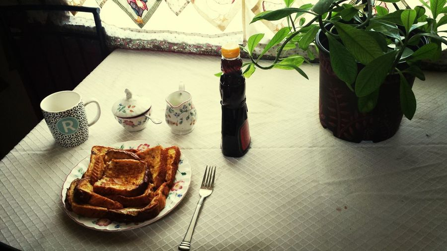 Breakfast French Toast and Coffee Good Morning Food Stories