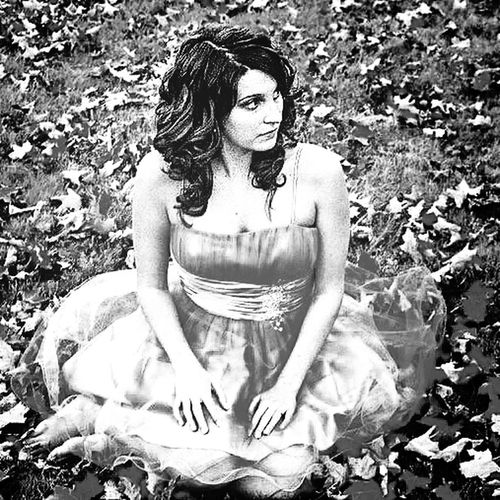 A poorly exposed photo of my kid. She looked like a fairy. Homecoming dance. Black And White Portrait Streamzoofamily Blackandwhite Portrait Of A Woman