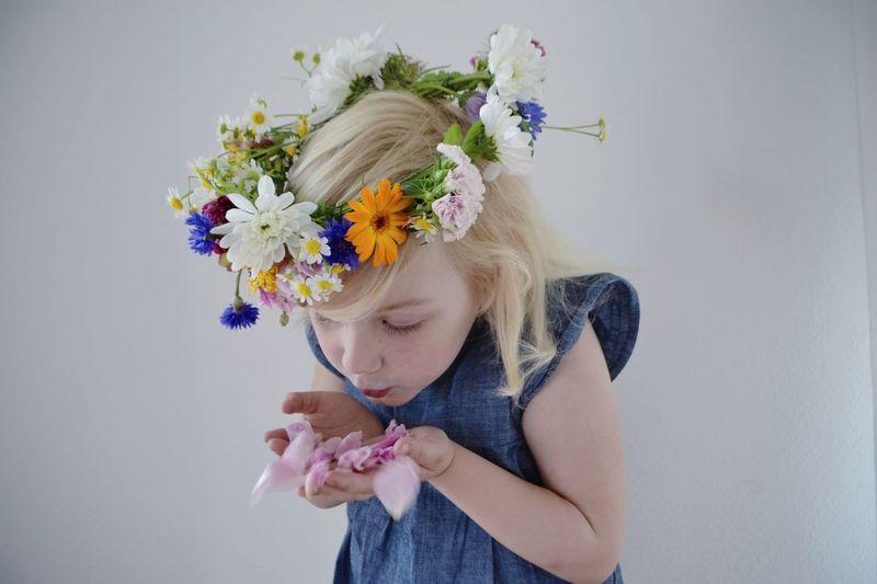 Blumenkranz Flowercrown  Kidsphotography Summer Midsommar Midsommarkransen