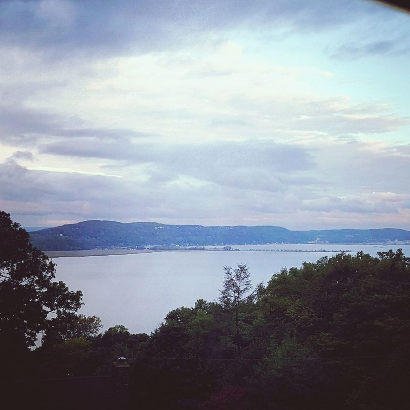 My View Hudson River New York Beauty In Nature Water Tranquil Scene