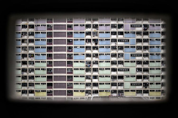 Color Frame NostalgicHongKong Architecture Hong Kong Architecture Vintage Style Minimalism Urbex Hong Kong Technology Close-up Residential Structure Pixelated TOWNSCAPE Housing Settlement Building Vignette Exterior Residential District Residential Building #urbanana: The Urban Playground