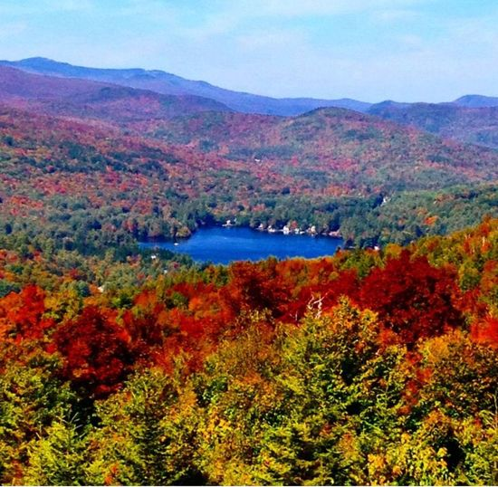 Enjoying Life Fall Fall Beauty Newenglandlife Foliage Vermont mountain Mothernature Eye Em Nature Lover Rainbow