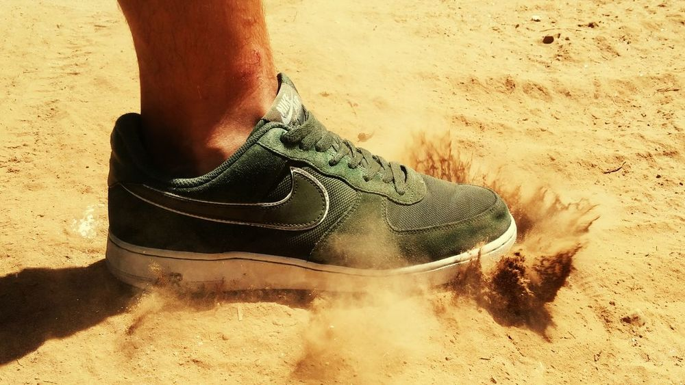 Summer Sports ☀ Sand Nike Air  Nike Running Running Workout EyeEm Best Shots EyeEm Best Shots - Sports Shoes Air Force One Tenis Hot Days Of Summer Colour Of Life Cruziper Photography