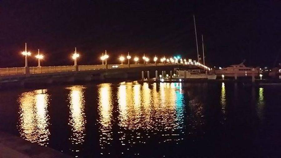Staugustine Harbourside Harbour Florida Bridgeoflions Saltlife Nightlights HistoricCoastCulture