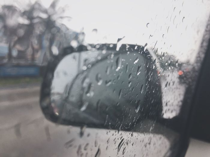 Drop Glass - Material Wet Rain Window Car Vehicle Interior Water RainDrop Weather Close-up Indoors  Car Interior Land Vehicle Windshield Transportation Sky