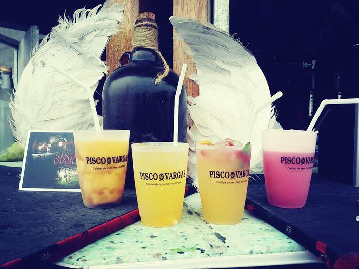 PeruvianPisco Drinks Happiness Mistura feria internacional gastronómica de Lima :)