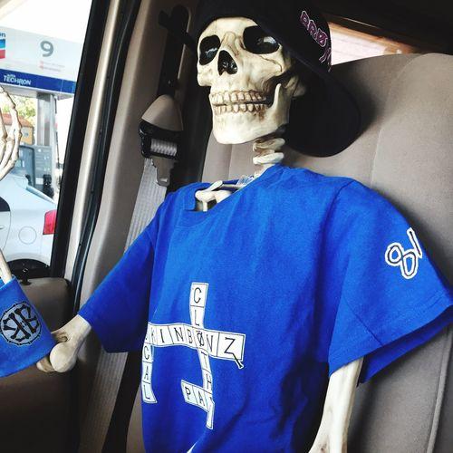 My Side Kick Brokinbonz Brokinbonz Clothing Skeleton Passenger Celebrating Pain