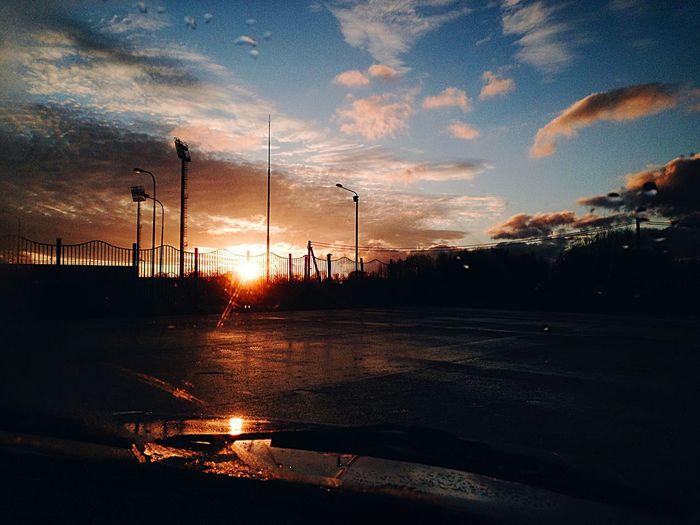Sunset Sky Cloud - Sky Dramatic Sky Silhouette Nature EyeEmNewHere