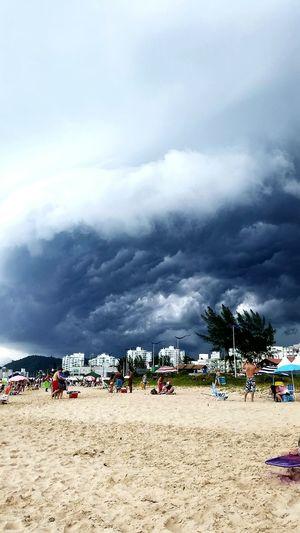 Storm Cloud Beach Sea Nature Cloud - Sky Sky Beauty In Nature Lovelovelove Beachphotography Nature
