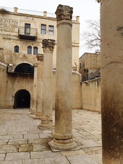 Architecture Architectural Column Built Structure Building Exterior History No People Travel Destinations Day Outdoors Sky Travel Israel