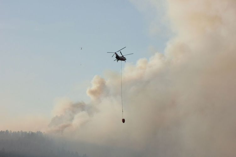 2 blades 2 helicopters Utahmountains Two Is Better Than One Fire Firefighters