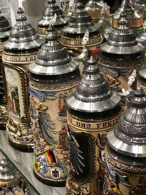 Religion Place Of Worship Spirituality Indoors  Gold Colored Travel Destinations No People Architecture Day Beer Beer Steins Stein Beer Stein Bavaria Germany German