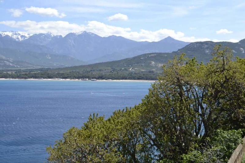 Blue Wave Corse Calvi Sea Paysage NikonD3100 Montagnes Bleue Mer Plage