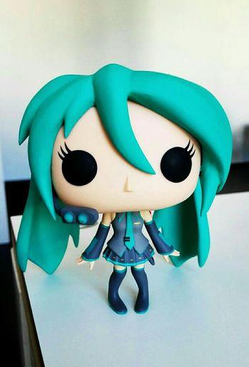 Hatsune Miku Vocaloid Mikuhatsune HATSUNEMIKU Funko Funkopop Figure Funkopopvinyl POP! Singing