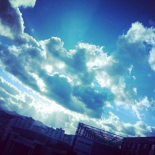 하늘 구름 안양 대림대