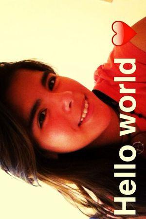 That's Me Hello World Photo♡
