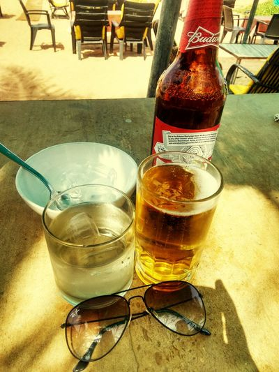 My Favorite Place Boose Solitude Sunlight Drinking Beer