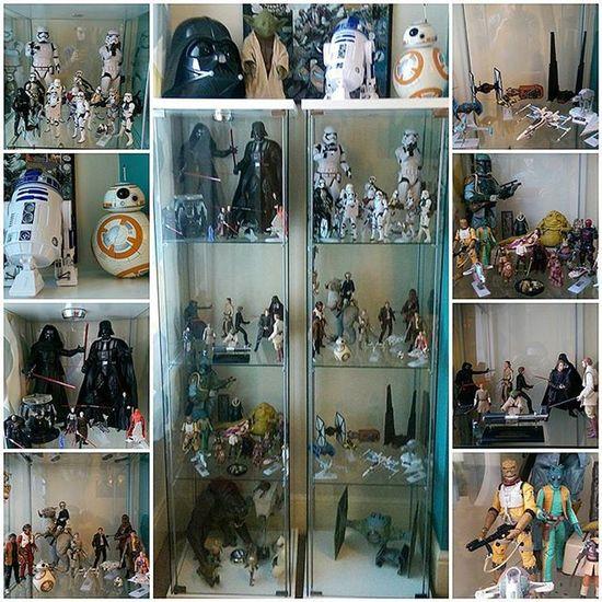 The collectors path to the darkside - when one cabinet becomes two. Starwars StarWarsCollector Starwarsfigures KennerToys DisneyElite Starwarsblackseries Jedi Sith Bountyhunters Starwarsaddict ForceAwakens Empirestrikesback Returnofthejedi Darthvader KyloRen Bobafett Lukeskywalker Hansolo Yoda Obiwankenobi AnakinSkywalker Stormtroopers R2D2 Bb8 Rey ToyPhotography Toystagram