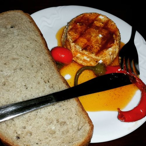 Cheese in Pickle Sauce with Bread !!! Czech Cuisine