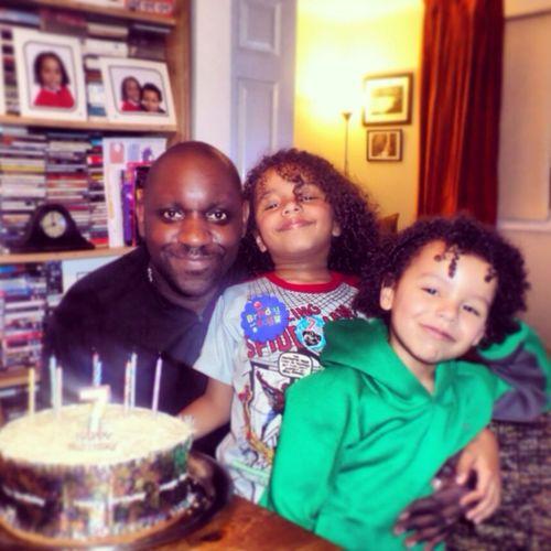 My Boys Birthday Relaxing celebrating Moses 7th Birthday with his bro Elijah 7/1/14
