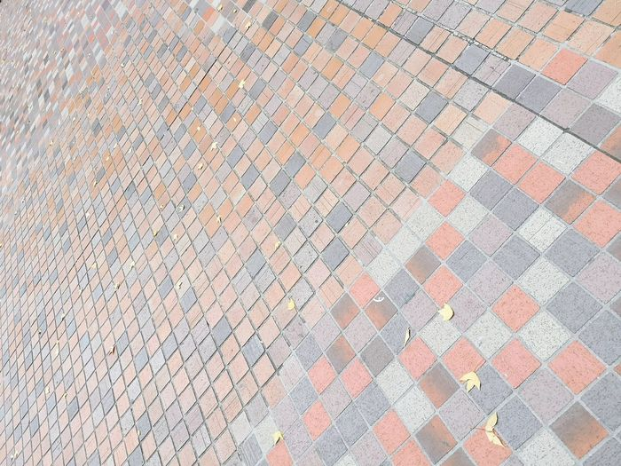 Full frame shot of cobblestone