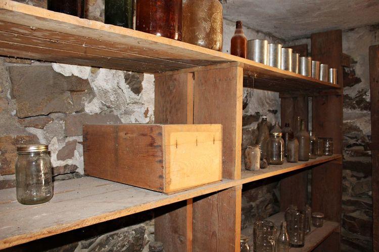 An old shelf in