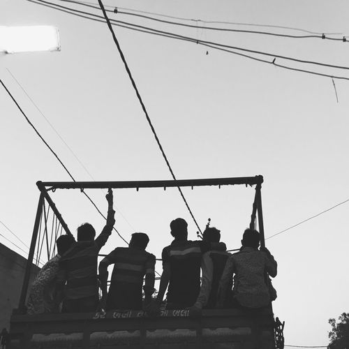 IPhone Iphoneonly IPhoneography Shotoniphone6splus Blackandwhite Blackandwhite Photography IPS2016People Streetphoto Streetphotography Cityscapes City Life Traveling Taking Photos EyeEm Gallery People Life In Motion Mood Captures Emotions A photo of a bunch of people traveling in transport vechile in their own mood.
